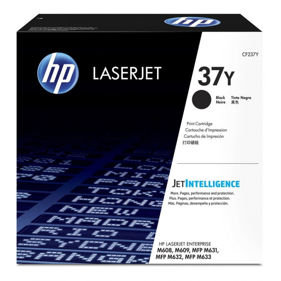 Картридж HP CF237Y 37Y Extra High Yield Black Original LaserJet Toner Cartridge