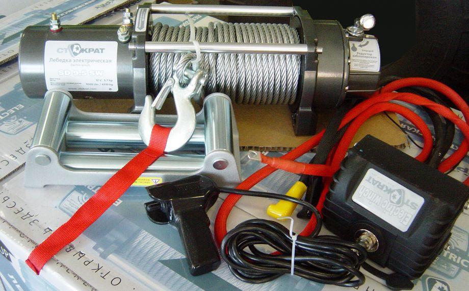 Лебедка электрическая СТОКРАТ SD9.5