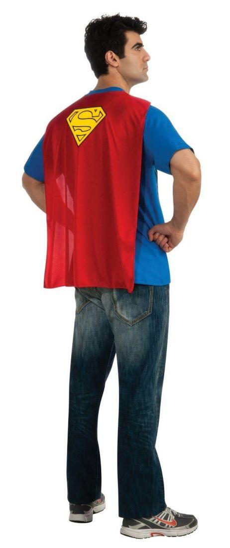 Футболка и плащ супермена