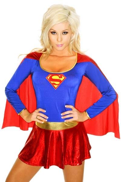 Костюм секси суперменши