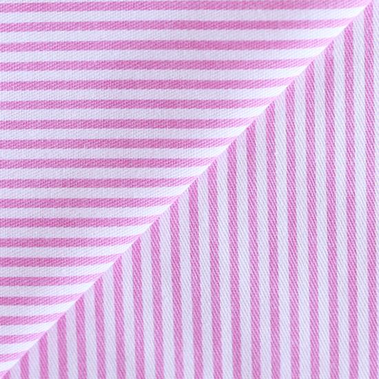 Ткань хлопок Розовая полоска тонкая 50х40