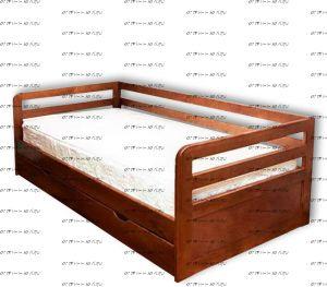 Кровать Дуэт №В, любые размеры