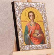Икона Великомученик Пантелеимон (14х18см)