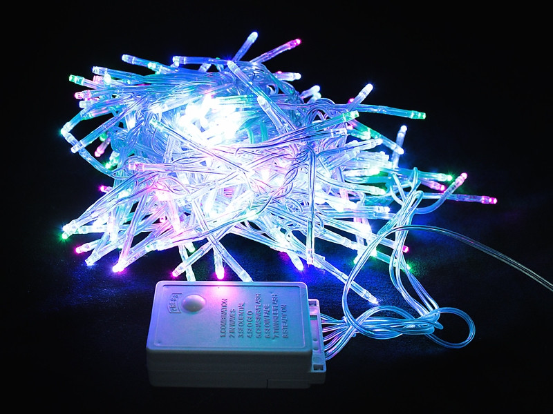 Новогодняя светодиодная гирлянда 320 Led лампочек 5м
