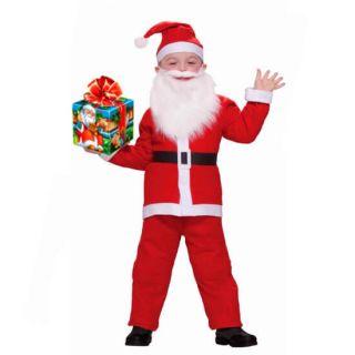 Детский костюм Санта Клауса для мальчиков (Возраст 10-13 лет)