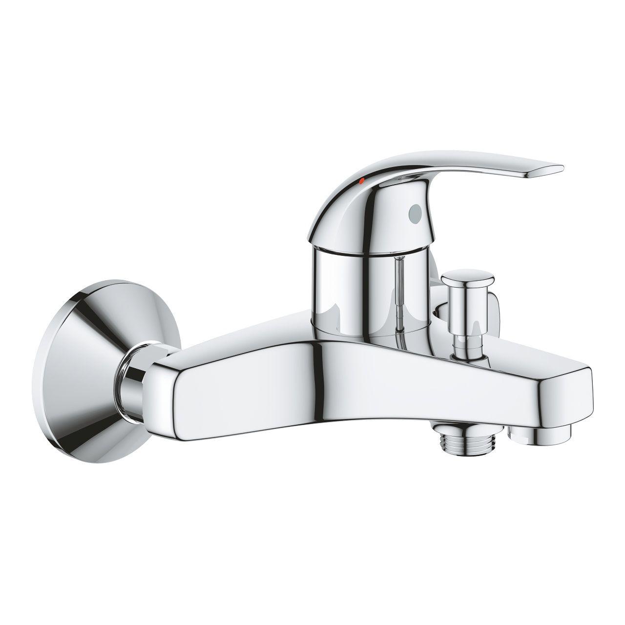 Смеситель Grohe Baucurve для ванны и душа 23599000 ФОТО