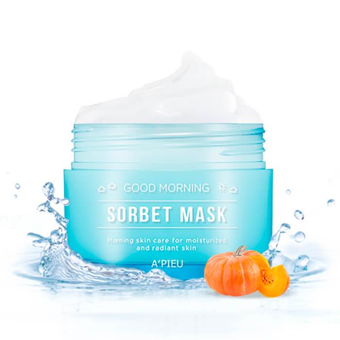 Утренняя маска-сорбет с тыквой A'Pieu Good Morning Sorbet Mask