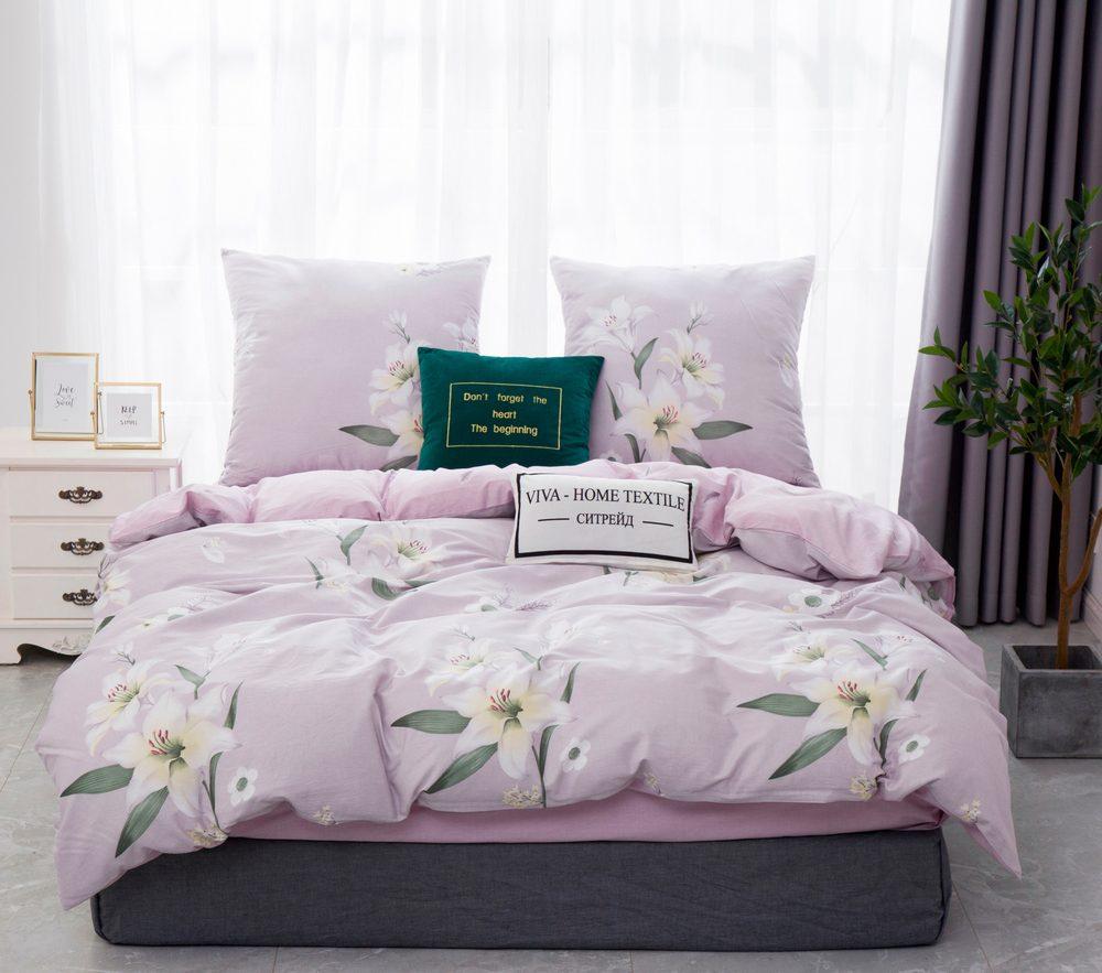 Комплект постельного белья 2 спальный Сатин C359
