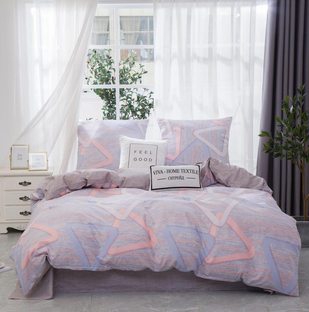 Комплект постельного белья Дуэт Семейный Сатин C360