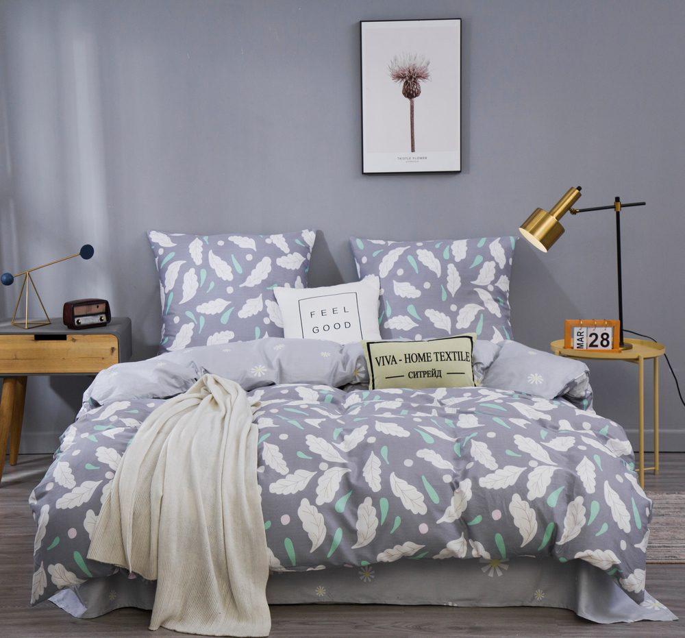Комплект постельного белья Евро Сатин C363