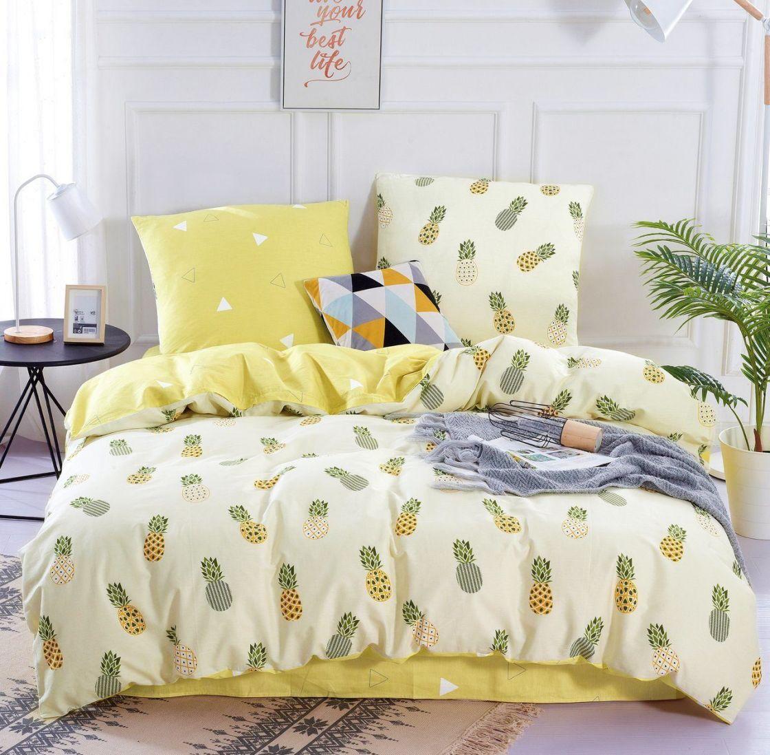 Комплект постельного белья 1.5 спальный Сатин C325