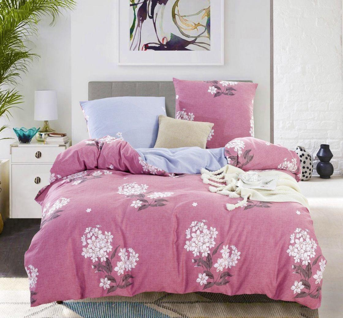Комплект постельного белья Евро Макси Сатин C328