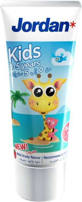 Зубная паста Jordan Kids 0-5 лет,50 мл