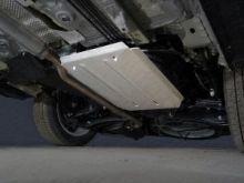 Защита бензобака, ТСС, алюминий 4мм для 2WD