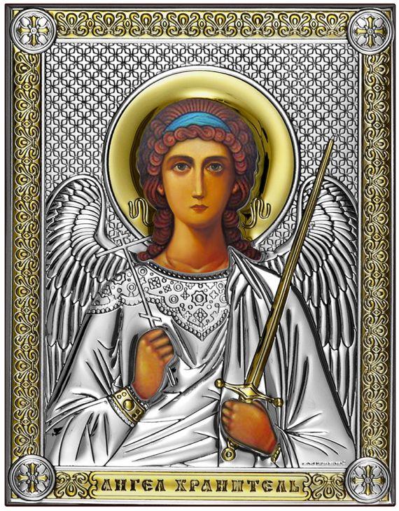 Икона Ангел Хранитель (Италия, 14х18 см.)