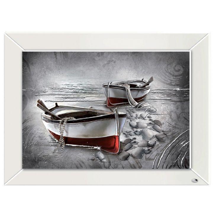 """Картина """"Лодки на берегу"""" (Италия, 60х45 см.)"""