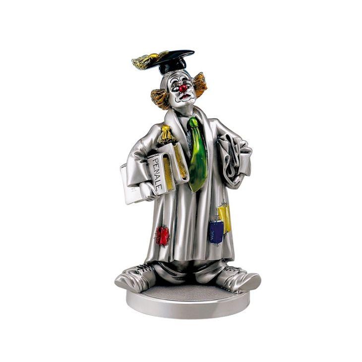 """Статуэтка """"Клоун в магистерской шапочке"""" (Италия, 13 см.)"""