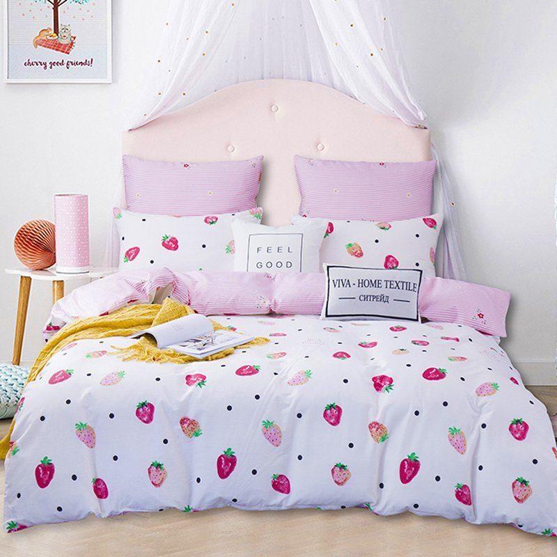 Комплект постельного белья Делюкс 2 спальный Сатин L167