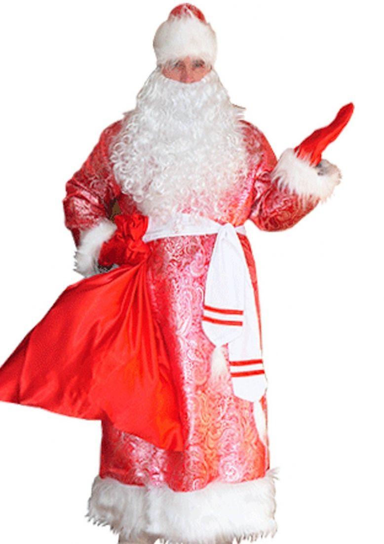 Подростковый костюм Дед Мороза