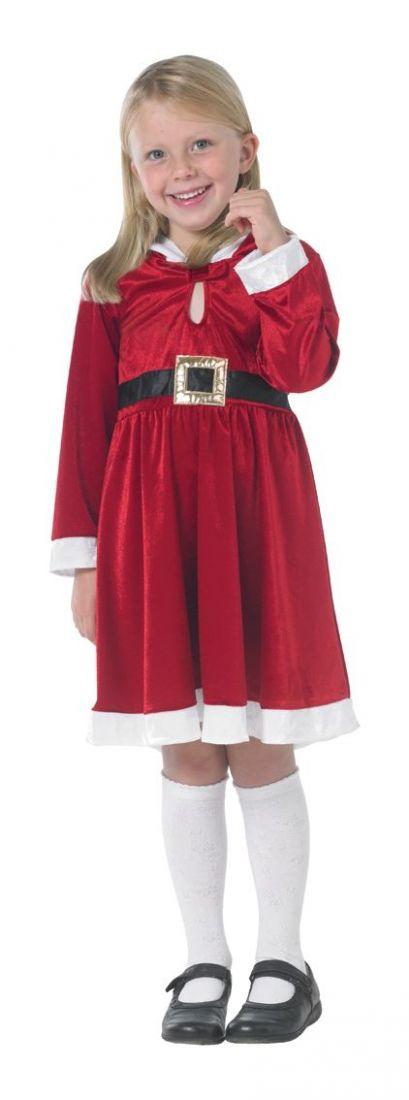 Детский костюм мисс Санты