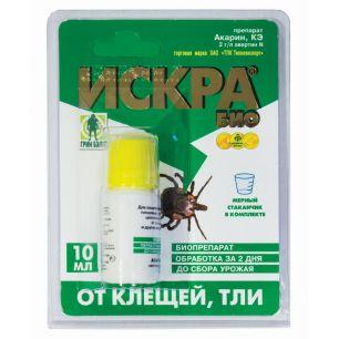 Инсектицид Искра био от тли, клещей флакон 10 мл на блистере