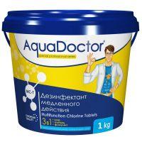 Средство по уходу за водой в бассейне AquaDoctor MC-T 1 кг.