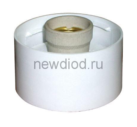 Светильник без стекла НББ 64-60 корпус прямой белый ГУ