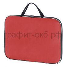 Портфель А3 Lamark ткань 1 отделение на молнии красный Lamark020