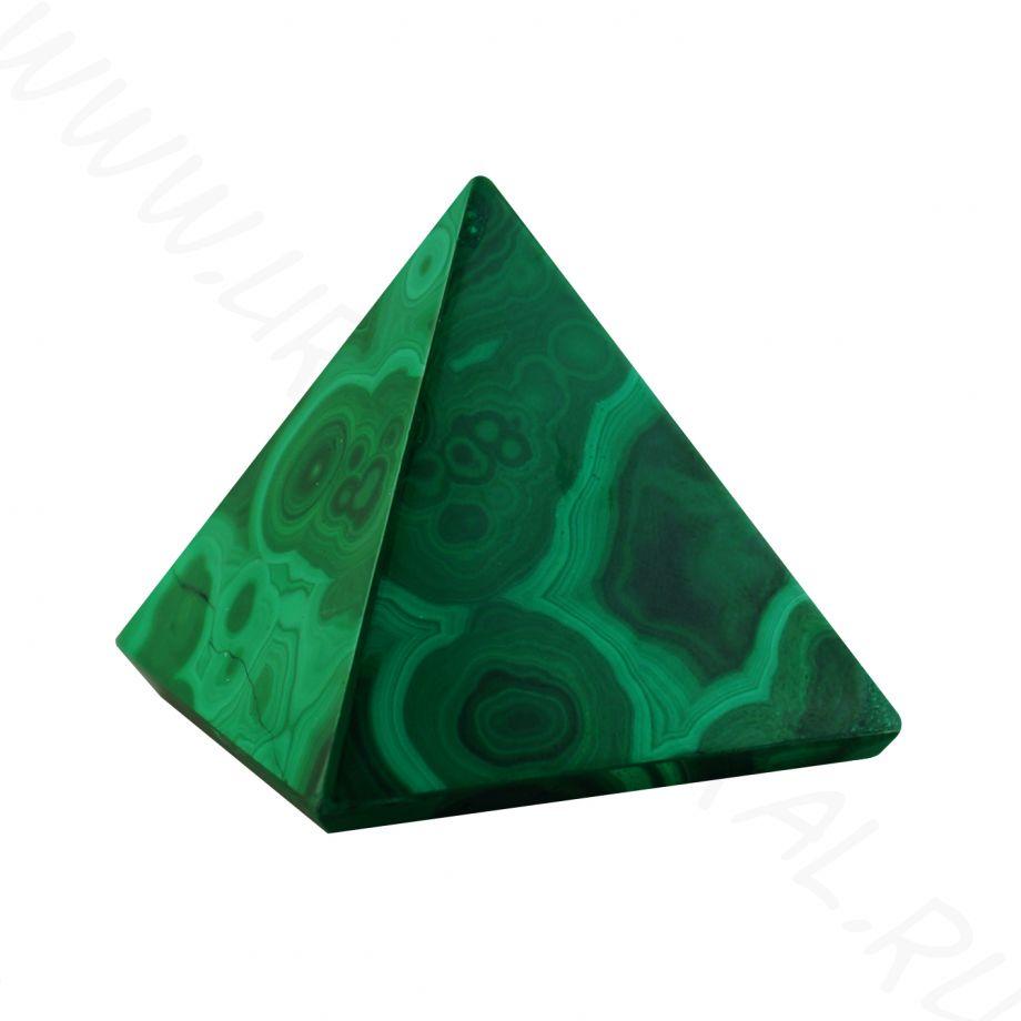 Пирамида - Малахит (большая)