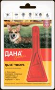Дана Ультра Капли против внешних паразитов для собак и щенков 5-10 кг