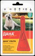 Дана Ультра Капли против внешних паразитов для собак и щенков более 20 кг
