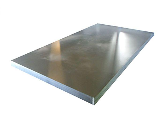 Лист оцинкованный 2000х1000 мм, толщина 0.5 мм