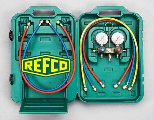 Манометрическая станция Refco BM2-3-DS-CLIM в кейсе
