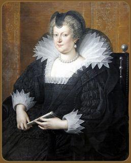 Королева  Мария Медичи, портрет  (1575 - 1642)