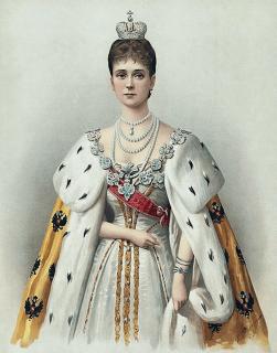 Императрица Александра Федоровна,  супруга Николая II (1872-1918)