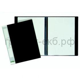 Папка 20 конвертов Durable черная 2422-01