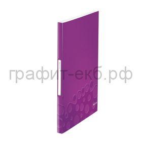Папка 40 конвертов Leitz WOW фиолетовый 46320062