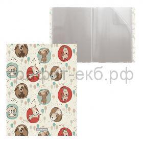 Папка 20 конвертов ErichKrause Little Dogs 48686