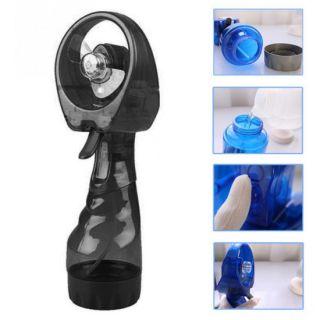 Портативный ручной вентилятор с пульверизатором Water Spray Fan