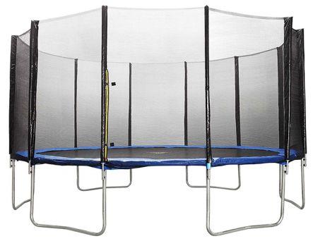 Батут DFC Trampoline Fitness 18 футов с сеткой (549 см)