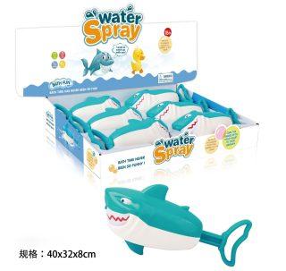 Игрушка заводная Акула, брызгается водой, дисплей