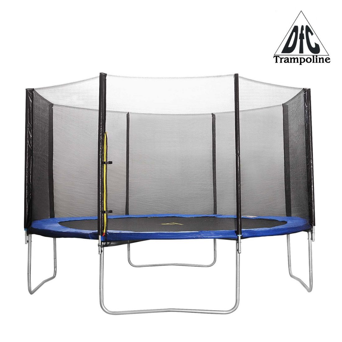 Батут DFC Trampoline Fitness с сеткой 10FT-TR-E + лестница