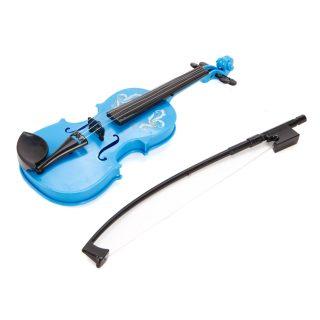 Скрипка голуб., 25 см, пакет