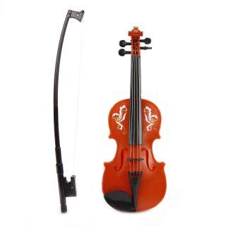 Скрипка корич., 25 см, пакет