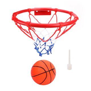 Набор для игры в баскетбол Профи, кольцо металл 25 см, мяч, игла для насоса, крепление