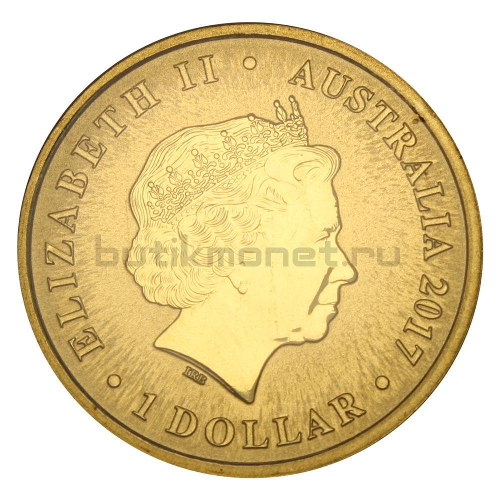 1 доллар 2017 Австралия 150 лет со дня рождения Генри Лоусона