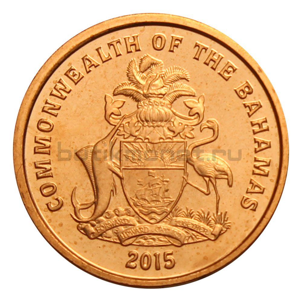 1 цент 2015 Багамы