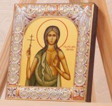 Мария Египетская (9х10,5см)