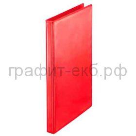 Файл А4 3см 4к.папка-панорама красная ESSELTE 49751