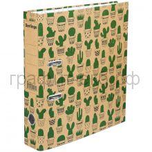 Файл А4 7см Berlingo Cactus крафт-бумага с рисунком ATk_70402